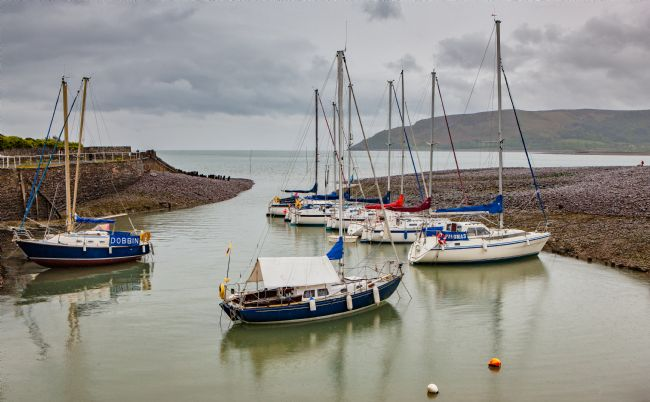 Tom Dolezal | Yachts at Porlock harbour