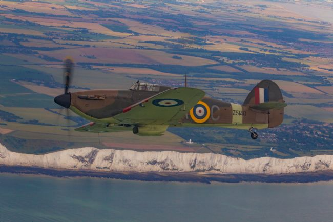 Tom Dolezal | Hurricane over the White Cliffs of Dover