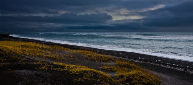 Tom Dolezal | Icelandic black sand beach