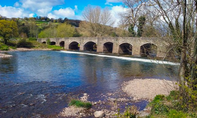 Tom Dolezal | Crickhowell bridge view