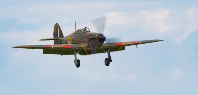 Tom Dolezal | Incoming Hawker Hurricane