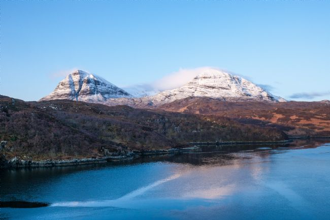 Tom Dolezal | Snow capped Quinag