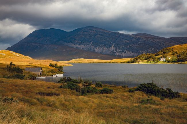 Tom Dolezal | Boathouse in the Scottish Highlands
