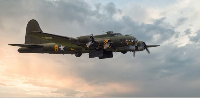 Tom Dolezal | Sally B, bomb doors open.
