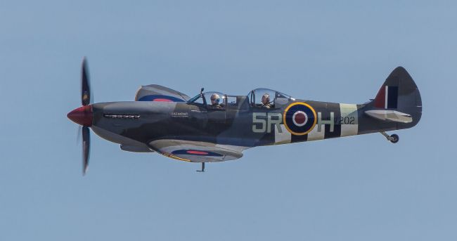 Tom Dolezal | Two seater Spitfire trainer