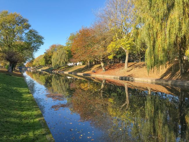 Tom Dolezal | Reflecting Autumn at Hythe Canal