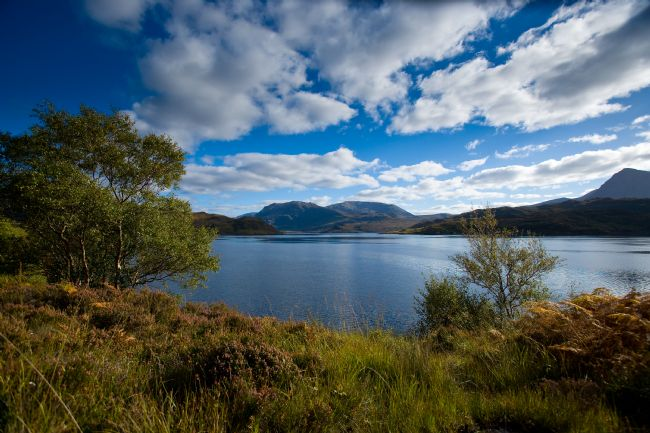 Tom Dolezal | View across Loch Glendhu