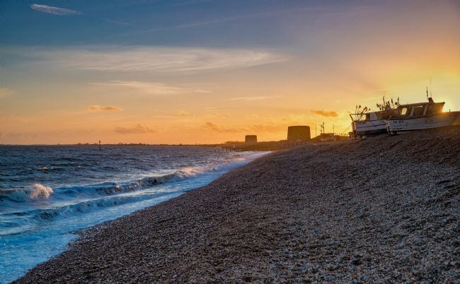 Tom Dolezal | Hythe beach sunset