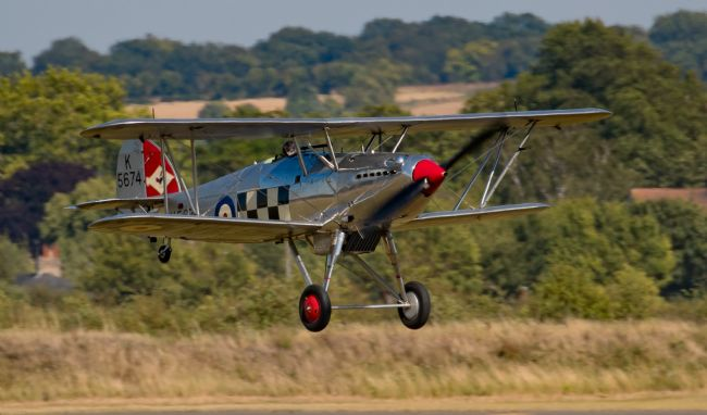 Tom Dolezal | Landing Hawker Fury