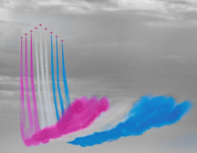 Tom Dolezal | Red Arrows display