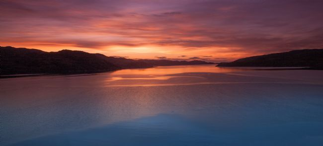 Tom Dolezal | Fiery sky over Loch Cairnbaw