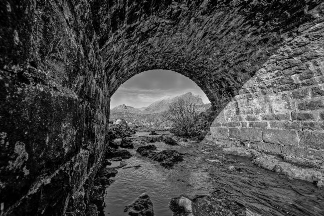 Tom Dolezal | Quinag view, mono