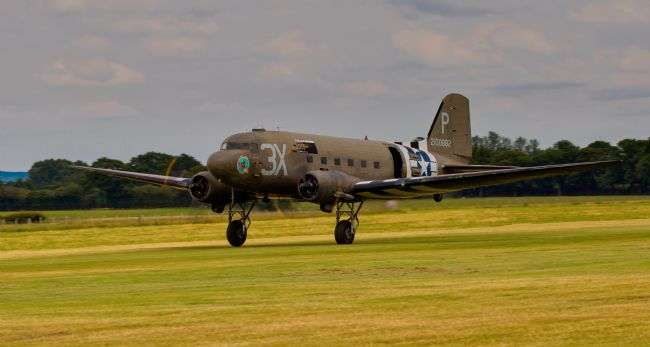 Tom Dolezal | C47 take-off