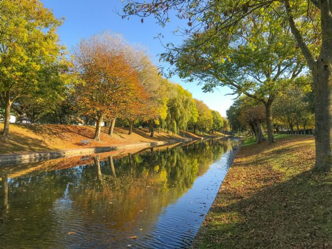 Tom Dolezal | Autumn reflections at Hythe Canal