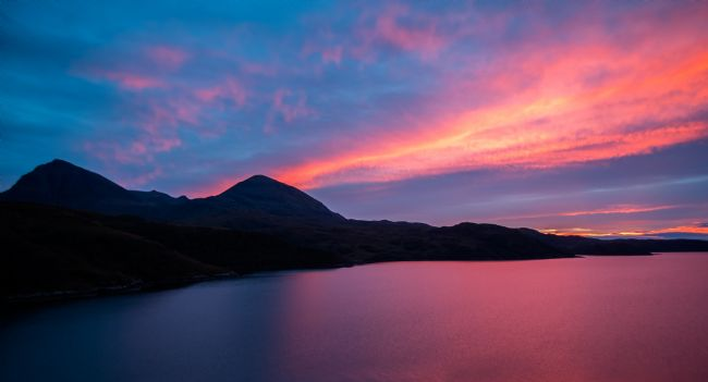 Tom Dolezal | Quinag sunset