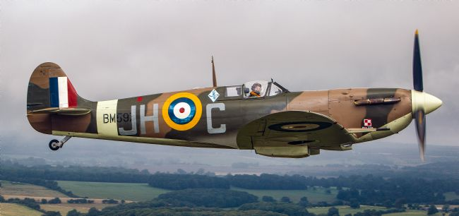 Tom Dolezal | Spitfire over Kent