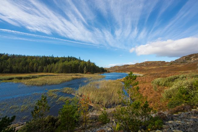 Tom Dolezal | Sky over Loch an Daimh Mor