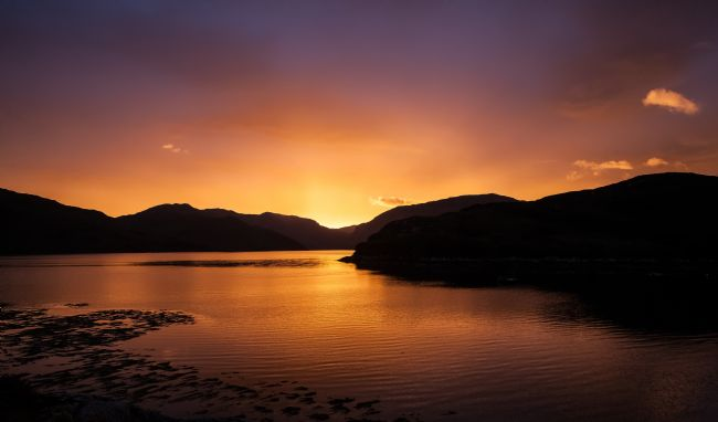 Tom Dolezal | Assynt sunrise