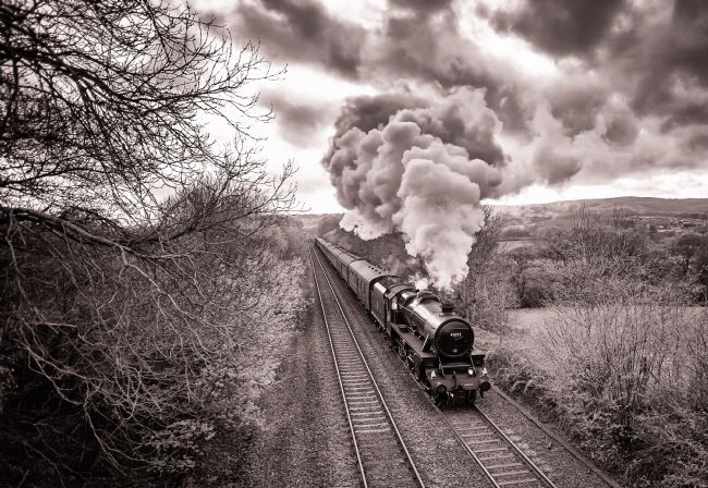 Clive Martin | A Steam Engine Making Clouds