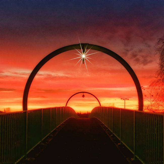 Rick Massey | Sunset on the Overbridge
