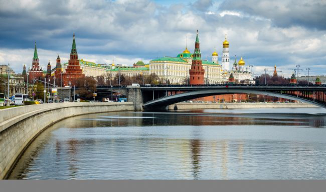 Alexey Stiop | Moscow River and Kremlin