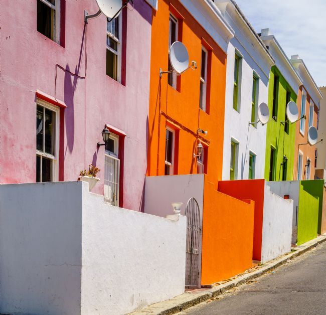 Alexey Stiop | Houses in Bo-Kaap in Cape Town