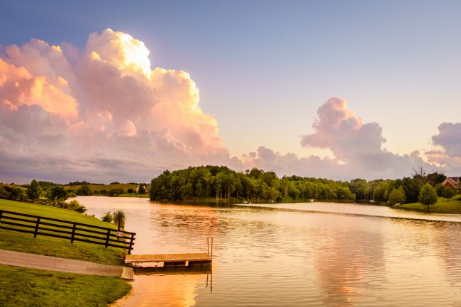 Alexey Stiop | Small lake in Central Kentucky