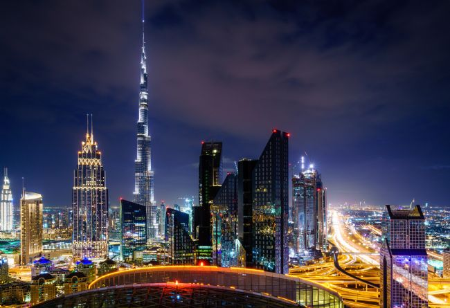 Alexey Stiop | Dubai downtown skyline