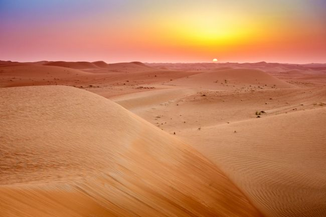 Alexey Stiop | Desert sunrise
