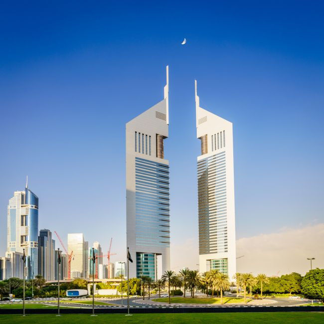 Alexey Stiop | Emirates Towers in Dubai