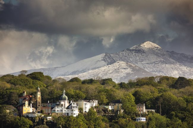 Rory Trappe | Portmeirion with Snowdon in the background