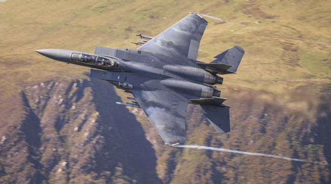 Rory Trappe | USAF F15-E Low Level