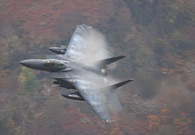 Rory Trappe |  The Mach Loop - Low level in Wales