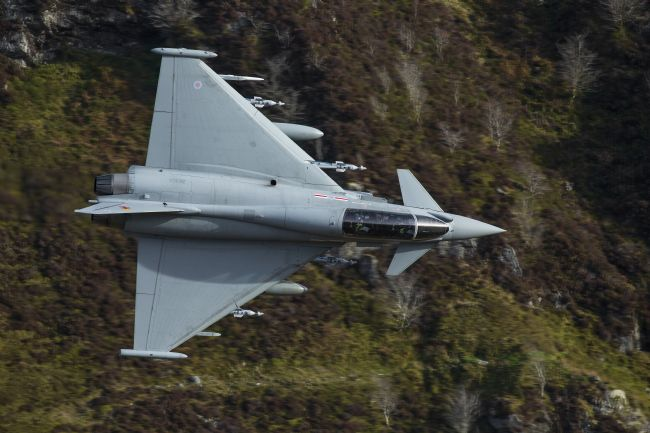 Rory Trappe | RAF Typhoon through the Cad gap