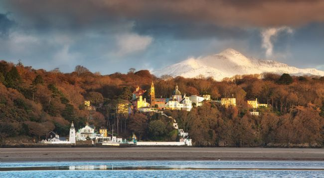 Rory Trappe | Portmeirion in winter