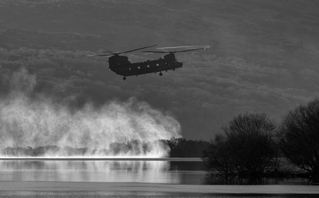 Rory Trappe | Chinook landing