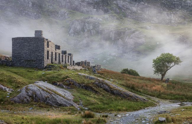 Rory Trappe | The remains of Cwmorthin cottages