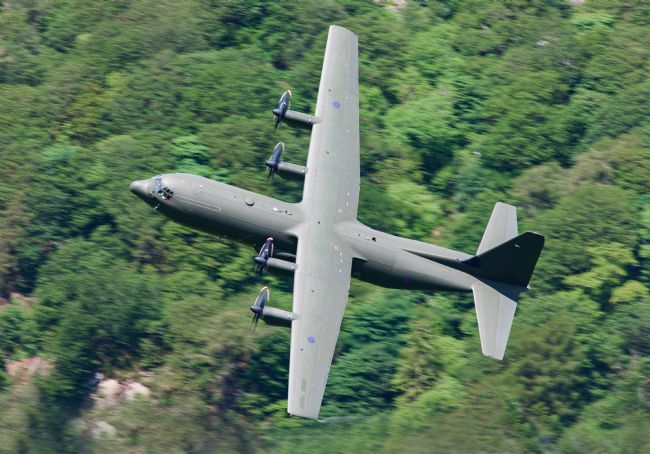 Rory Trappe | RAF Hercules C-130