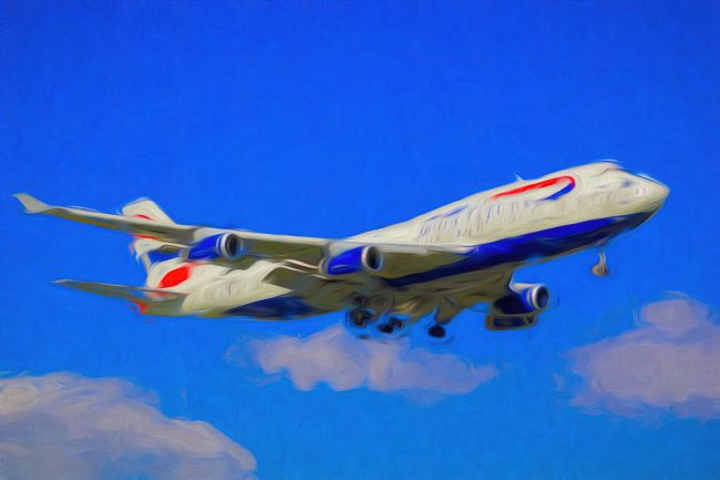 David Pyatt | British Airways Boeing 747-436 Art