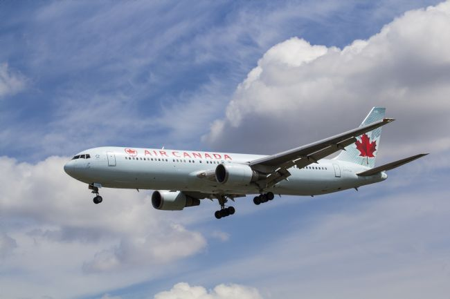 David Pyatt | Air Canada Boeing 767