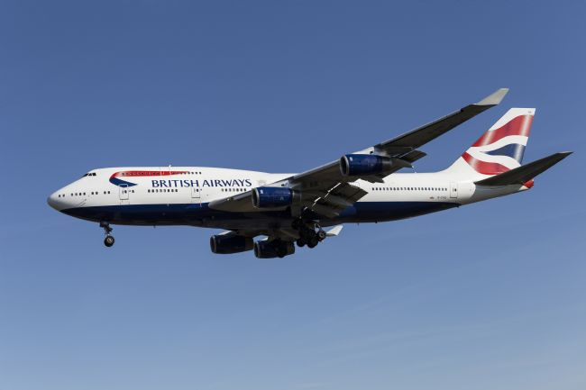 David Pyatt | British Airways Boeing 747-436