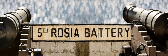 Chris  North | Gibraltar, Rosia Battery