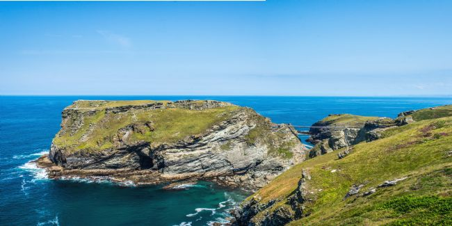 David Wilkins | The new bridge at Tintagel Island