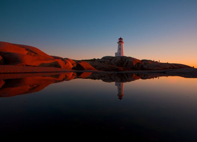 yvonne carroll | Peggy's Cove lighthouse, Nova Scotia, Canada