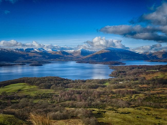 yvonne carroll | Loch Lomond from Conic Hill