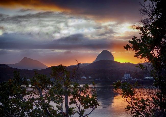 yvonne & paul carroll | Spectacular sunrise, Lochinver