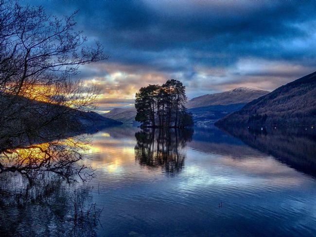 yvonne & paul carroll | Loch Tay sunset