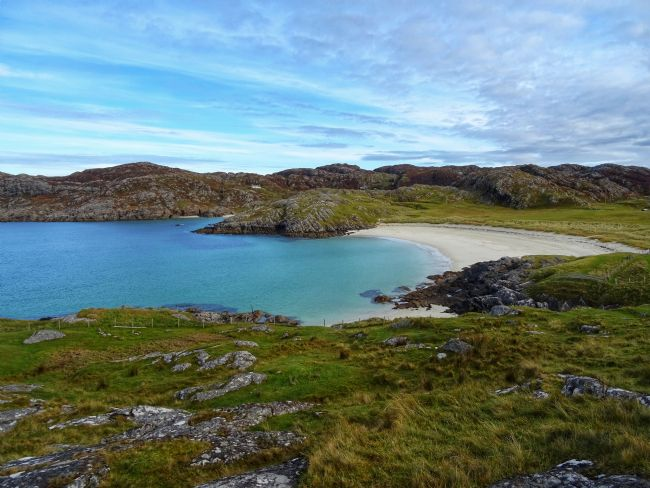 yvonne & paul carroll | Remote and stunning Achmelvich beach, near Lochinver, Sutherland