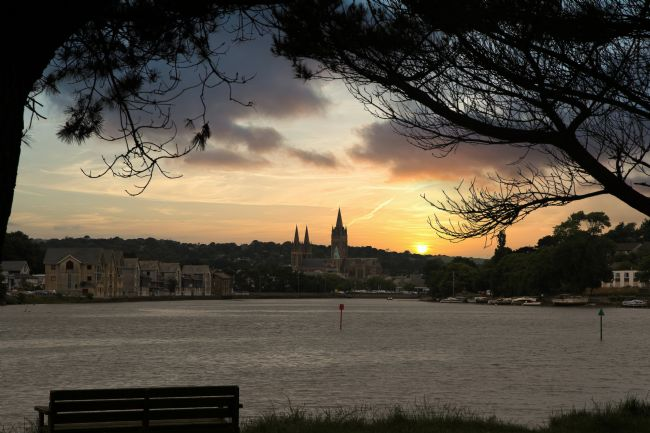 Kris Ohlsson | Truro Cathedral at Sunset