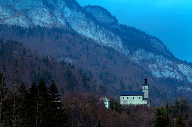 Kris Ohlsson | Mountain Church at La Boume, French Alps